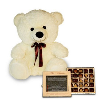 Perfect Choc and Teddy Hamper