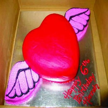 Cupid's Heart Jumbo Cake