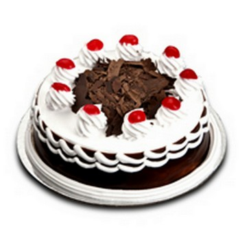 Beauty in the Blackforest Cake (Eggless)